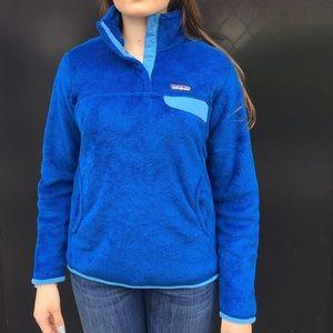 Like New❗️ Patagonia Blue Fleece Jacket